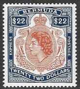 Bermuda SG E1 1996 Express Letter Stamp $22 Unmounted Mint [34/28834/2DE] - Bermuda