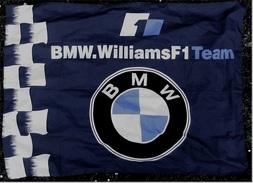 Flagge / Fahne   BMW Williams F1 Team  -  Material : Polyester  -  Größe Ca. 130 X 95 Cm - Autosport - F1