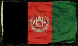 Flagge / Fahne  Afghanistan  -  Material : Polyester  -  Größe Ca. 150 X 86 Cm - Andere Sammlungen