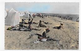 LA FAUTE SUR MER EN 1959 - N° 903 - LA PLAGE ANIMEE - FORMAT CPA VOYAGEE - Autres Communes