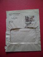 """Lettre  Elias A. Benzaouen Casablanca Le 15/11/1940 Pour Lyon 23/11/1940 N°182  Flamme """"Utilisez La Poste Aérienne"""" B/TB - Briefe U. Dokumente"""