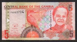 528-Gambie Billet De 5 Dalasis F456 - Gambie