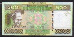 523-Guinée Billet De 500 Francs 2006 GO188 Neuf - Guinea