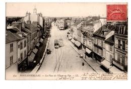 77 - FONTAINEBLEAU . LA PLACE DE L'ETAPE AU VIN - Réf. N°1984 - - Fontainebleau