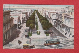 Cuba  --  Habana  --  Prado Promenade - Sonstige