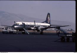 SLIDE / AVION / AIRCRAFT     KODAK   ORIGINAL       OLYMPIC  YS 11   SX-BBL - Diapositives (slides)