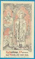 Holycard   Lombaerts   St. Martinus   Weerde - Devotieprenten