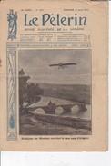 """LE PELERIN 19 Avril 1914 Brindejonc Des Moulinais Survolant Le Pont D'Avignon, La """"Belle Aventure Récupère Des Pêcheurs - Livres, BD, Revues"""