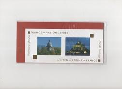 Emission Commune France Nations Unies (sous Blister) - Gemeinschaftsausgaben