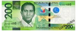 PHILIPPINES 200 PISO 2015 Pick 209 Unc - Philippines