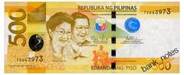 PHILIPPINES 500 PISO 2014 Pick 210 Unc - Philippines