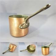 *CASSEROLE EN CUIVRE XIX ème - Cuisine Cuisinier - Pots