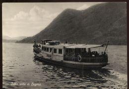 T1075 TRAGHETTO BATTELO LUGANO - Ferries