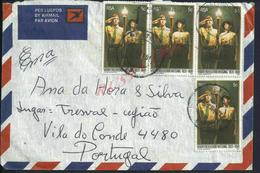 SCOUTISME LETTRE PAR AVION TIMBRES SCPOUTS AFRIQUE DU SUD C À D PRETORIA 1981 RSA SOUHT AFRICA POUR VILA DO CONDE : - Afrique Du Sud (1961-...)