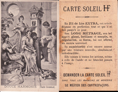 CHROMOS.  Fil De Lin Extra  CARTE SOLEIL HF.  Douce Harmonie. ...T832 - Sonstige