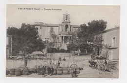 30 GARD - GALLARGUES Temple Protestant - Gallargues-le-Montueux