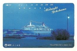 Giappone - Tessera Telefonica Da 105 Units T274 - NTT, - Barche