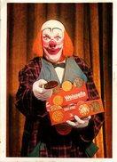 C.P.A. Publicitaire & Concours Biscuit Weissella - Le Clown Proposant Des Biscuits En 1970 - E. Bernard - Correspondance - Publicité