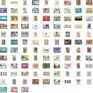 Départ 1 Euro (lot 2a) THEMATIQUE Collection De + 100 Blocs   Jeux Olympiques (olympic) De Gaulle  TABLEAU (PAINTING) - Timbres