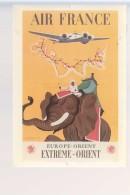 Cpm ,    Air France  , Europe Orient Extréme Orient , Illustrateur Ray Bret Koch 1938  ,  Non  Voyagé - Aviation