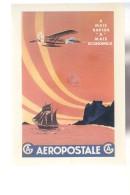 Cpm ,    Air France  ,   D'aprés Un Document Aéropostale 1930  ,  Non  Voyagé - Sonstige