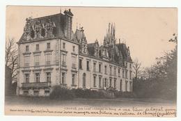 *c* - CHANGÉ, Près Laval - Château Du Bourg  - Carte Précurseur - édit. Hamel- Jallier - 2 Scans - Altri Comuni
