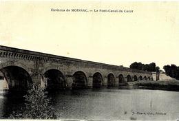 Moissac. Le Pont Canal Du Cacor. - Moissac