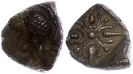 Obol (1,05g), ca. 6. Jhd. v. Chr., Milet, Av: Löwenprotome rechts, den Kopf umdrehend. Rev: Sternförmiges...