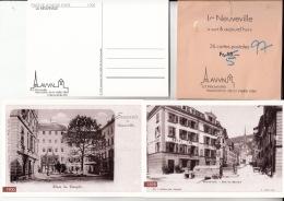 """La Neuveville """"hier & Aujourd'hui"""" 26 Cartes Postales - Cartes Postales"""