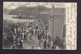 CPA CAP VERT - CAP-VERT - CABO VERDE - S. VICENTE - Festa De S. Joao - SUPERBE ANIMATION D'une Fête 1903 - Cap Vert