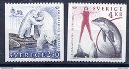 SWEDEN 1991 Nordic Countries; Tourism  MNH / **.  Michel 1666-67 - Sweden