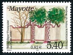 MAYOTTE 2000 - Yv. 87 **   Faciale= 0,82 EUR - Tombeau Du Sultan Andriantsouli  ..Réf.AFA22593 - Mayotte (1892-2011)