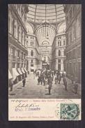 CPA ITALIE - NAPOLI - NAPLES - Interno Della Galleria Umberto 1 - TB PLAN ANIMATION - Napoli