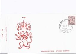 """3 Enveloppes FDC """"Amis Du Musée Dynastie"""" 1980, Timbres Différents + 1 Dépliant Postal (1 Timbre) Annivers. Roi Baudouin - 1971-80"""