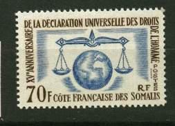Cote Des Somalis **  N° 318 - Droits De L' Homme  - - Nuovi