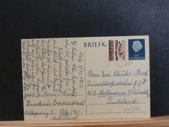 66/375  BRIEKAART NAAR DUITSLAND 1964 - Period 1949-1980 (Juliana)