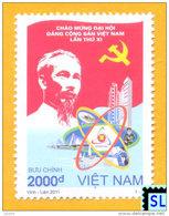 Vietnam Stamps 2011, Communist Party Congress, MNH - Vietnam