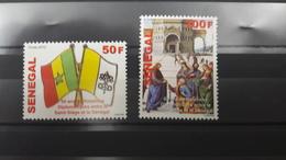 SENEGAL 2012 - DIPLOMATIC RELATIONS VATICAN SAINT SIEGE -  RARE -  MNH - Senegal (1960-...)