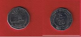 Madagascar  --  20 Ariary  1999  -- Km # 24.2  --  état  SUP - Madagascar