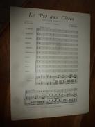 Vers 1900  LE  Pré AUX CLERCS  (opéra-comique En 3 Actes) - Partitions Musicales Anciennes