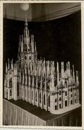 Photographie Représentant Une Maquette De Cathédrale (type Carte Postale) - Reproductions