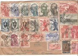 Cameroun Air Mail Cover Yaounde 13/9/1949 V.Gand Belgique PR4544 - Cameroun (1915-1959)