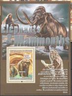 Guinée  2008   Prehistory Prehistoire Mammoth Homme - Vor- Und Frühgeschichte