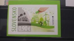 EUROPA CEPT 2016 THINK GREEN SLOVENSKO SLOVAKIA - Europa-CEPT