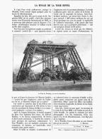 LA RIVALE DE La TOUR EIFFEL ( LA TOUR DE WEMBLEY )   1907 - Sciences & Technique