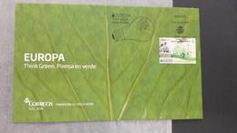 EUROPA CEPT 2016 THINK GREEN FDC SPAIN - Europa-CEPT