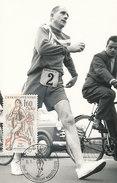 D29931 CARTE MAXIMUM CARD RR TRIPLE 1961 CZECHOSLOVAKIA - RUNNING CP ORIGINAL - Athletics