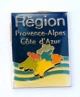 Pin's REGION PROVENCE ALPES COTE D'AZUR - PACA - Pub Garcin - G309 - Administrations