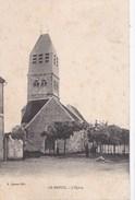 51 LE BREUIL  Coin Du VILLAGE  Hommes Devant L' EGLISE Timbre 1907 - Zonder Classificatie