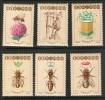 POLOGNE-POLAND  1987 APICULTURE   YVERT N°2915/20 NEUF MNH** - Abeilles